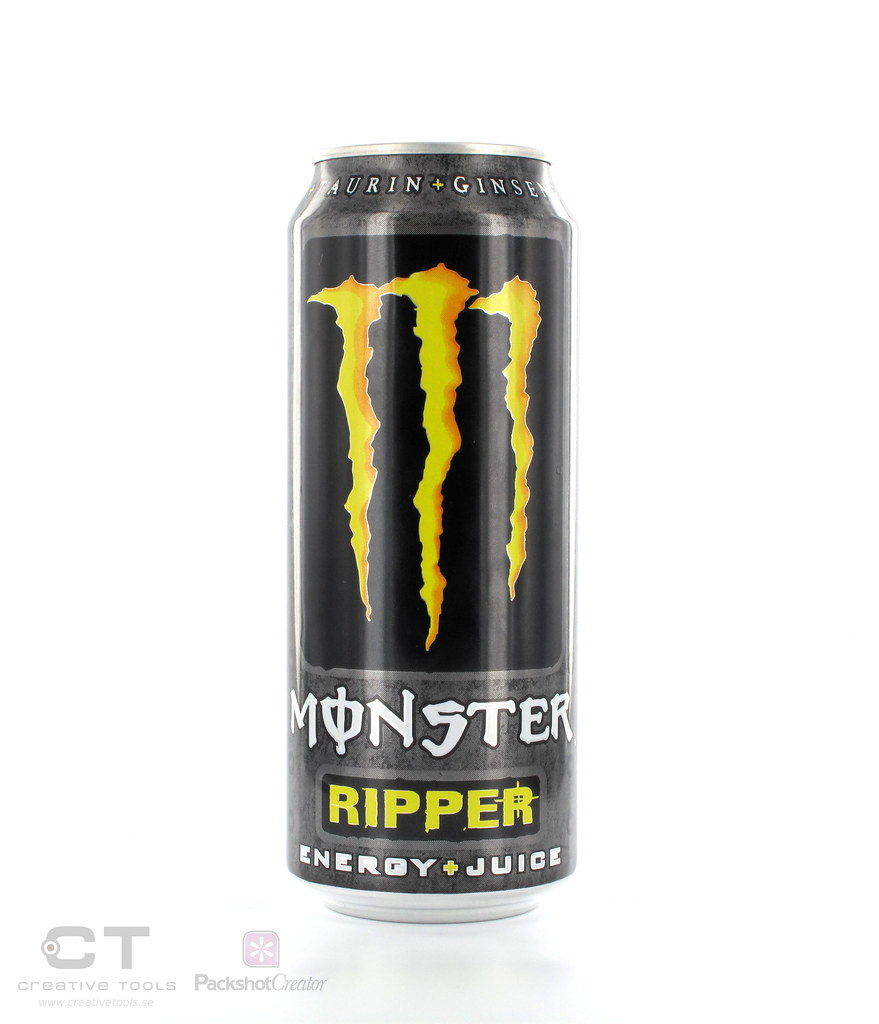Monster energy drink can sizes