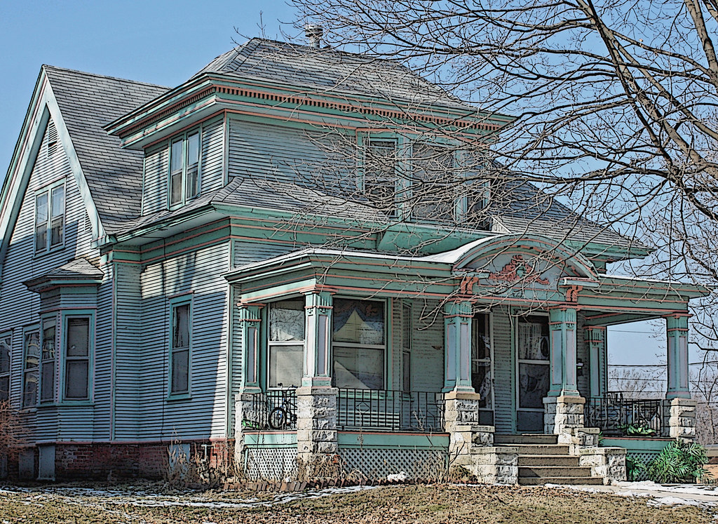 Springfield Il Craftsman Style Home Enos Park The Photo Flickr