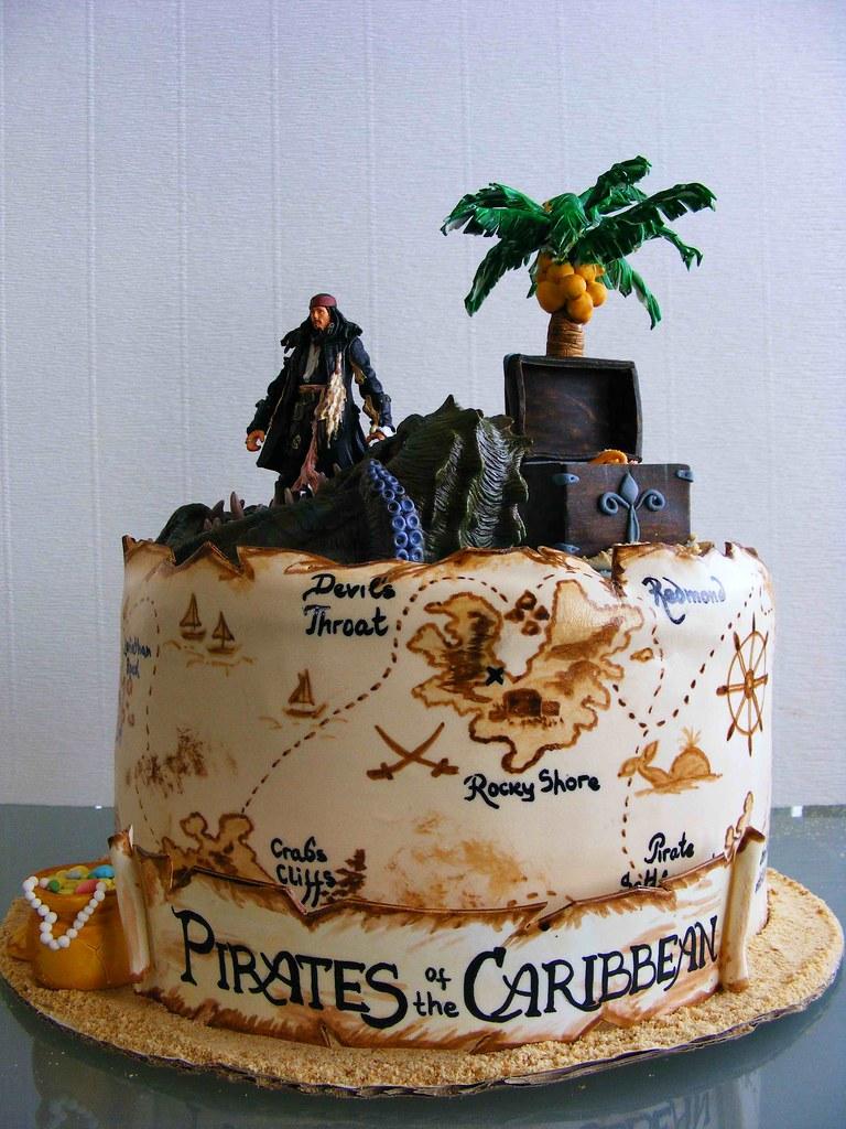Jack Sparrow Cake Ideas