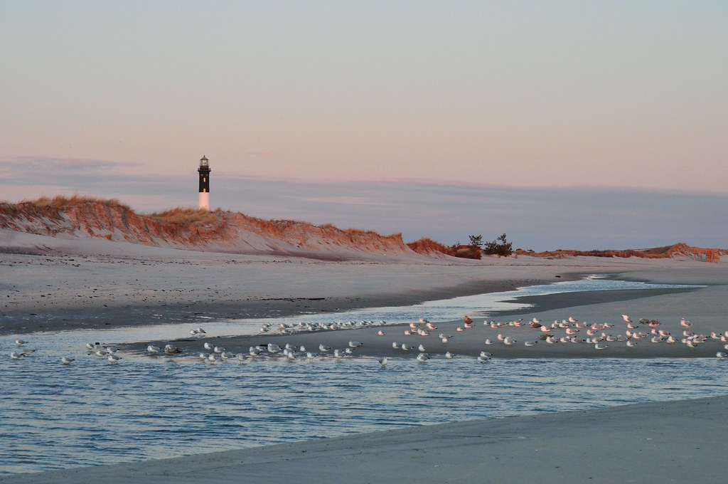 Fire Island Lighthouse Robert Moses Beach