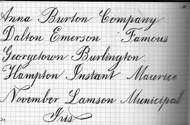 copper plate more practice with copperplate font in my ske flickr