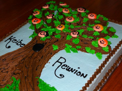 Family Tree Cake Designs