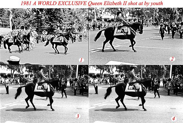 Queen Shot At By Youth 1981 Queen Shot At By Youth A 17