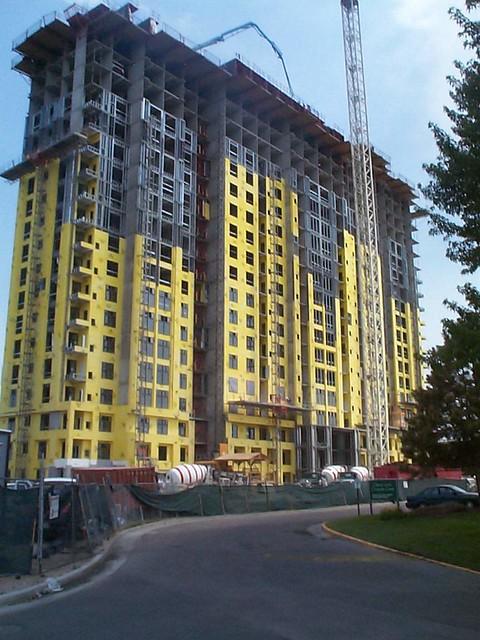 Apartment Building With Densglass Sheathing Densglass