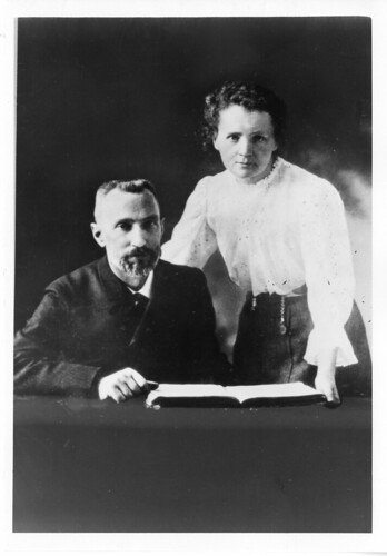 Pierre Curie (1859-1906) and Marie Sklodowska Curie (1867-1934), c. 1903 | by Smithsonian Institution