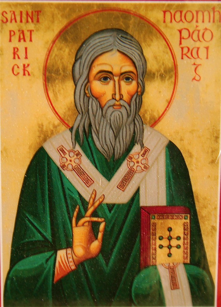 St Patrick Icon This Is A Photo I Took Of A Small Icon