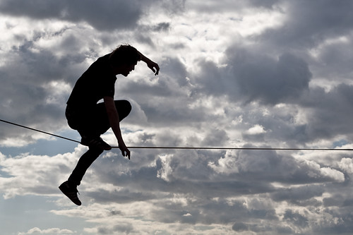 man on wire | by image munky