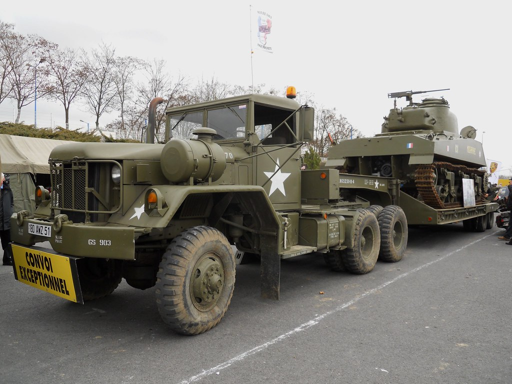 Porte Char Tank Transporter Maybe A M818 Am General