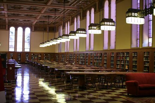 Usc Library Study Room Doheny