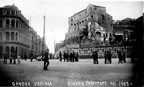 Foto Storiche Di Genova 72 Genova Vecchia Piazza De