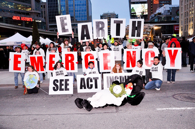 ecoSanity at Earth Hour Toronto 2010