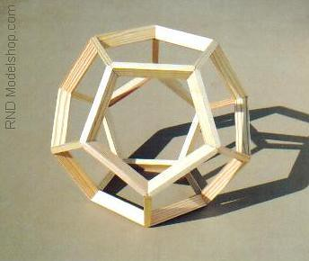 Dodecahedron Wood Frame Model 9 Quot Tall These Are Great As