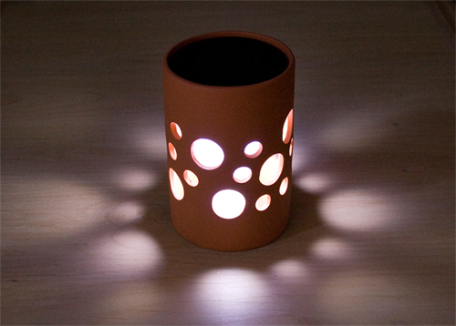 Solar pot light did you know that there is a great for Alternative candle holders