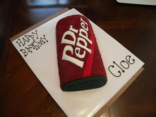 Dr Pepper Can Birthday Cake Jennifer Flickr