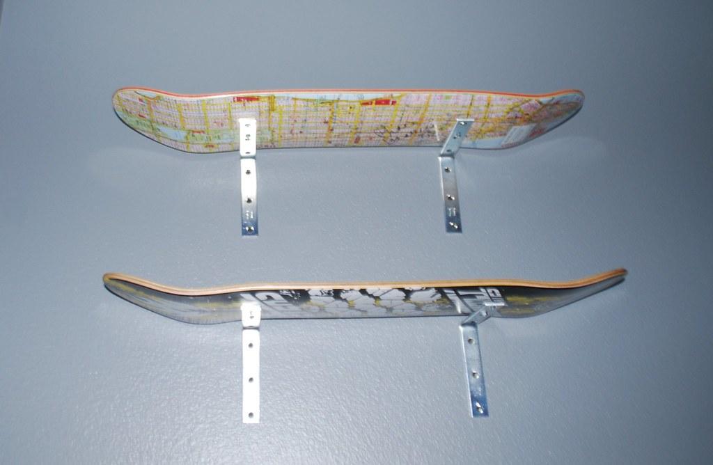 close up of skateboard shelves angryjuliemonday flickr. Black Bedroom Furniture Sets. Home Design Ideas