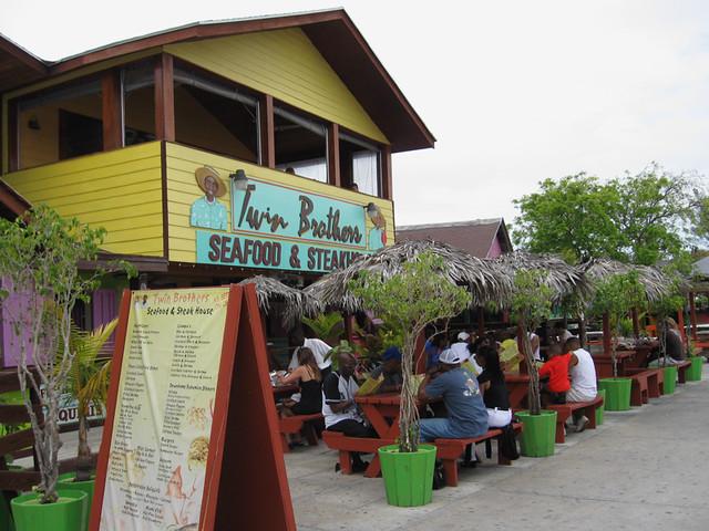 Bahamas vacation fish fry r0sss flickr for Fish fry bahamas