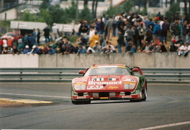 Ferrari F40 Gte Le Mans 1995 The No41 F40 Of Gary Ayles Flickr