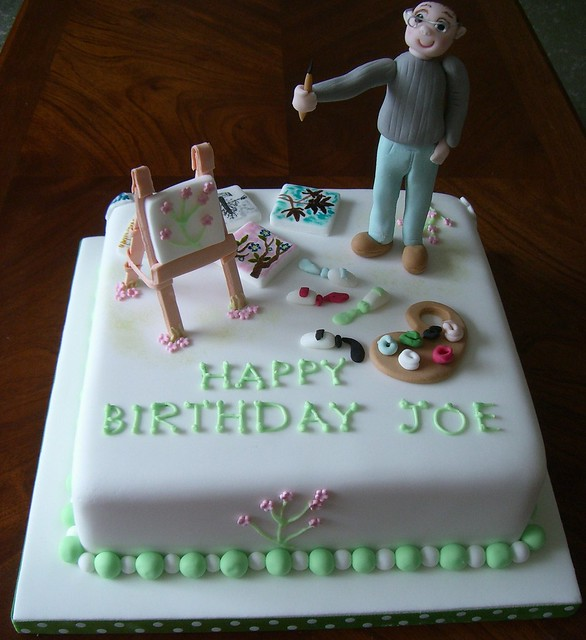 Birthday Cake for an Artist.... Flickr - Photo Sharing!