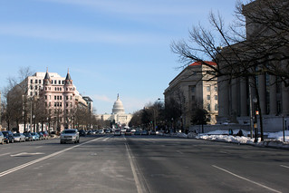 2010 02 20 - 1758 - Washington DC - Pennsylvania Ave from 9th St | by thisisbossi