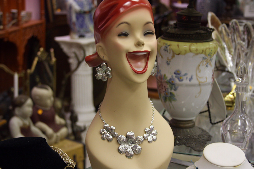 Hideous Jewelry Model At Jacobsen S Antiques Bit Ly Ae0q Flickr