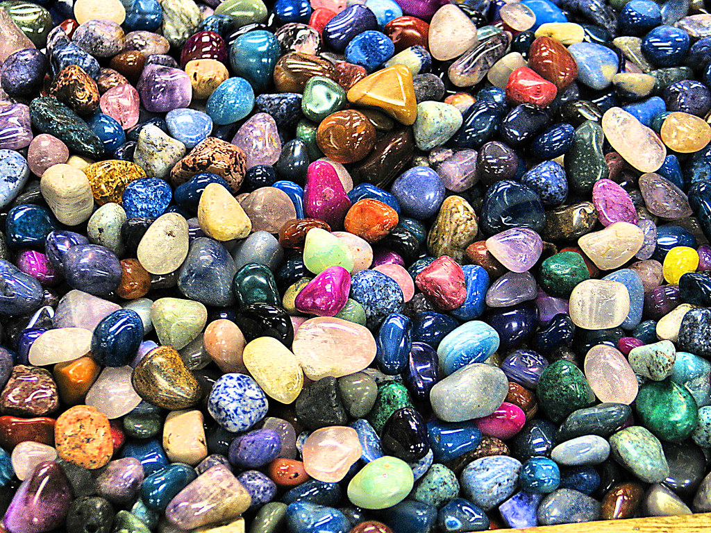 Colorful Rocks Wallpaper Colored Rocks | by Tim