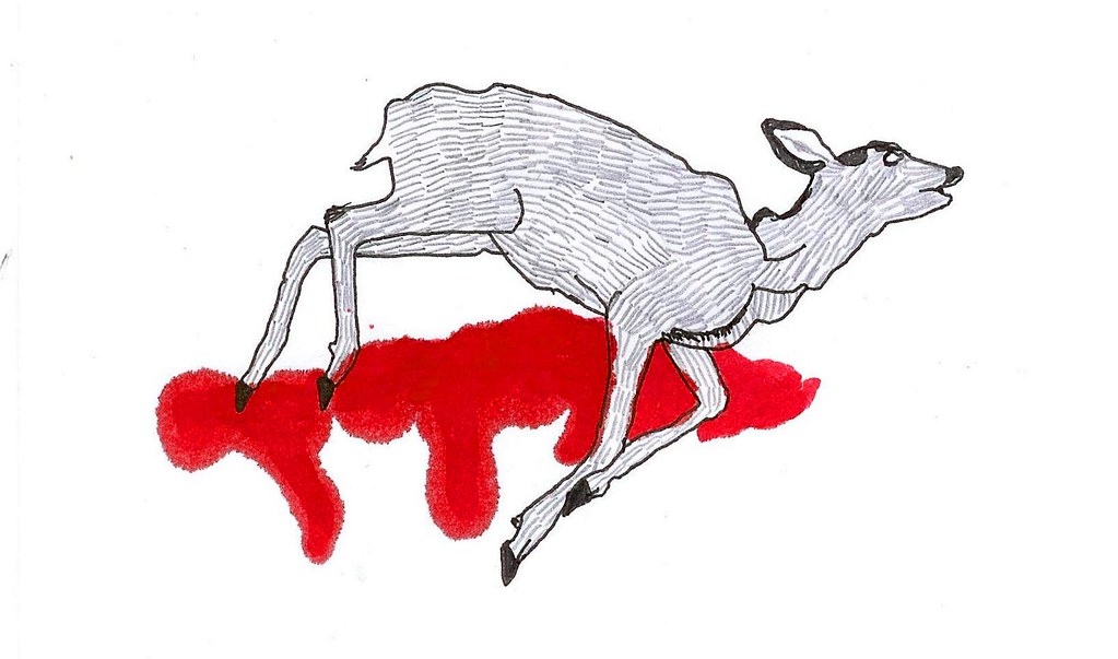 How To Draw Cartoon Dead Animals