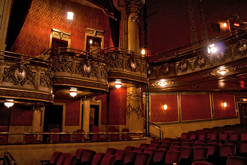 Elgin Theatre Balcony Seating At The Elgin Theatre In