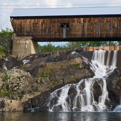 East Willard Twin Covered Bridge and Falls | by jcbwalsh