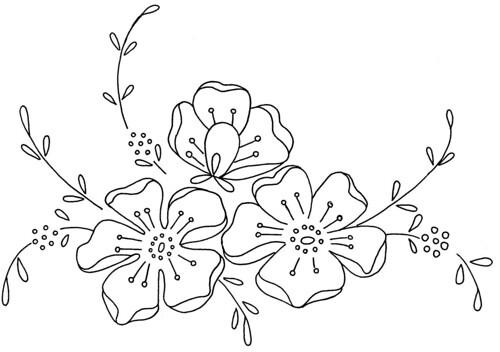 Flower design 20 love to sew flickr for Disegni da stampare e colorare fiori