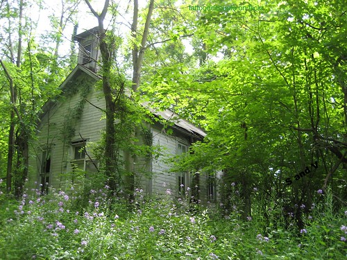 old belmont ridge Ohio school | by S and V photos