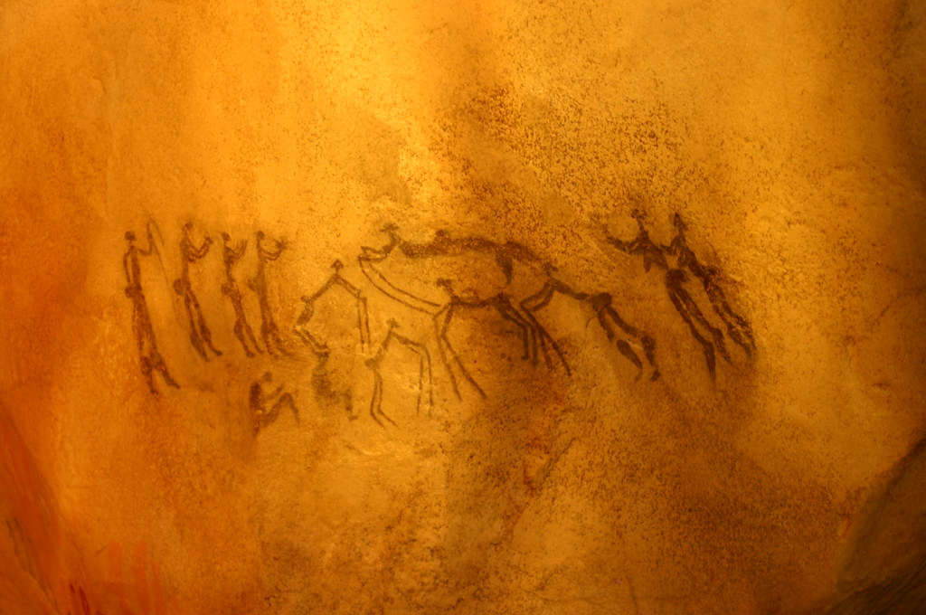 H Cave Painting, Dance s...