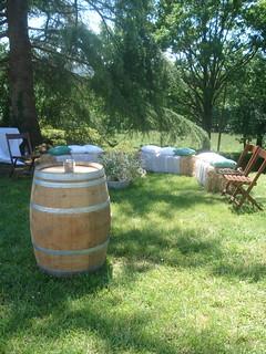 Mariage champ tre campagne landes d coration ext rieur for Mariage champetre decoration