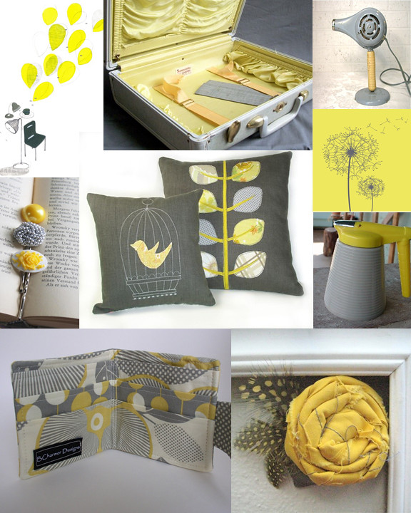 Kitschicagoan Yellow Amp Grey Mood Board Here Are The