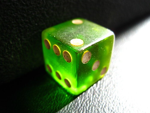 green dice | by Steve A Johnson