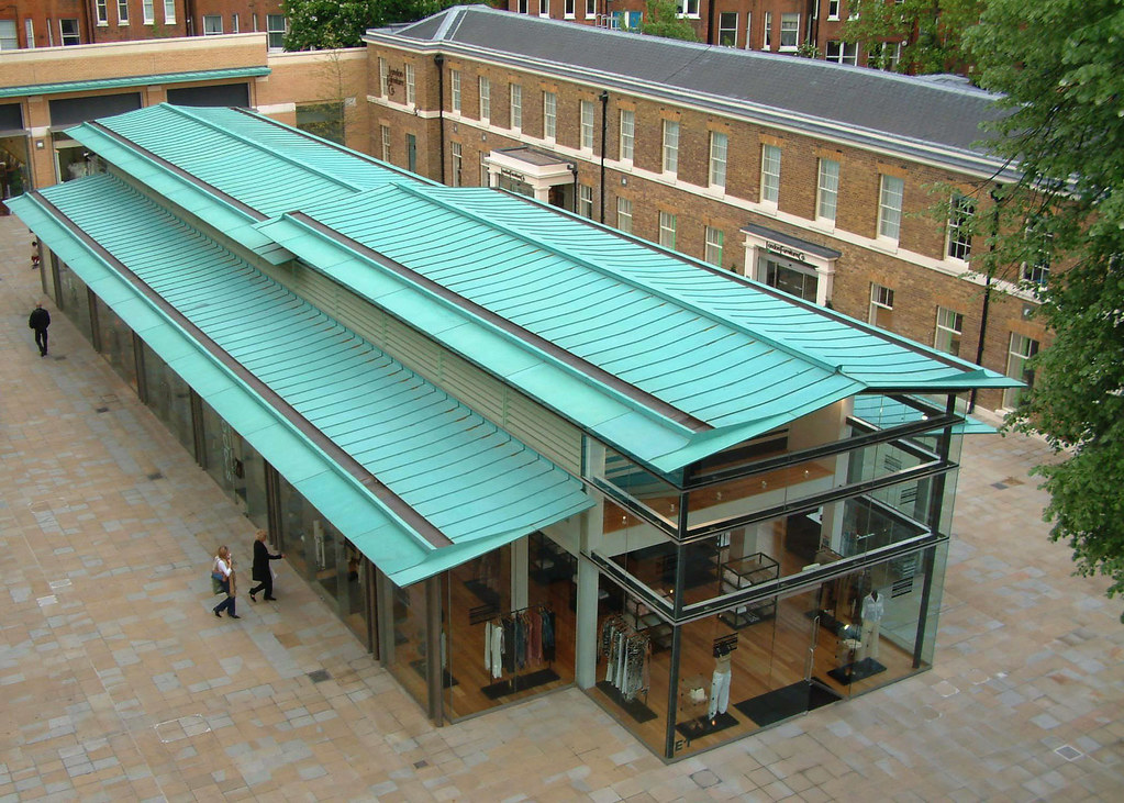 Duke Of York Barracks Chelsea Tecu 174 Patina Copper Roof