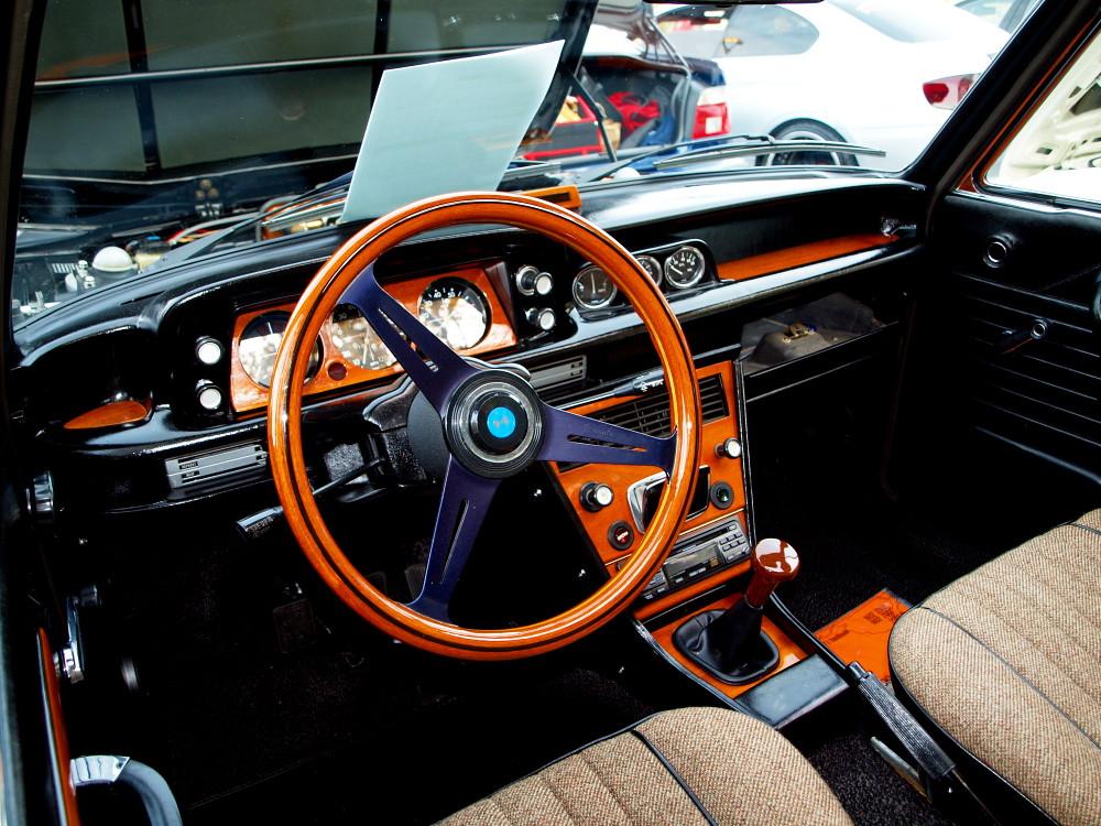 ... BMW 2002 Wood Trim Interior | By Nicholas Lewandowski