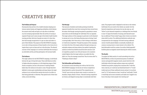 Brandbook Creative Brief Carrie Peters Flickr