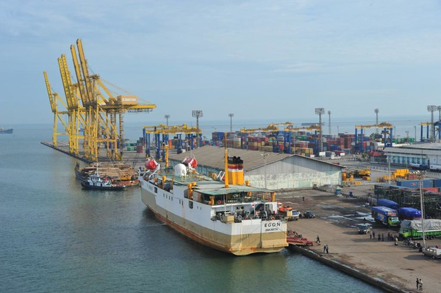 Image result for semarang port