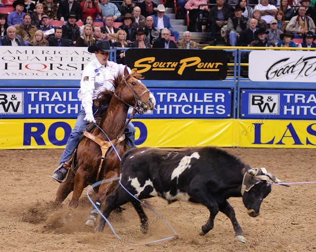 Wrangler National Finals Rodeo Team Roping Dec 3 12 0