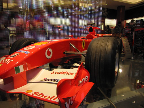 ferrari f1 car at ferrari shop ferrari f1 car at the ferra flickr. Black Bedroom Furniture Sets. Home Design Ideas