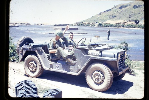 Two Soldiers in a Jeep - Vietnam ca. 1967 | Mike ...
