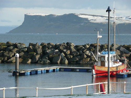 Boats and Fair Head | by cluttercup