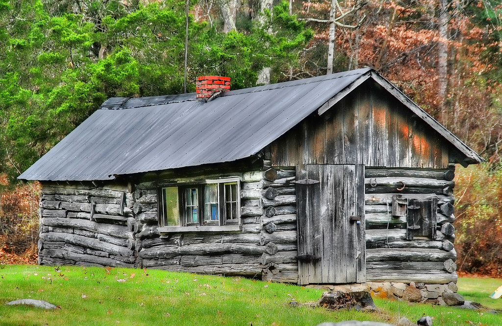 The Ole Log Cabin An Original Blue Ridge Mountain
