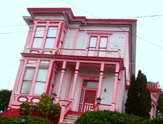 This is one of my favorites!  Nothing like a pink and red house. | by eg2006