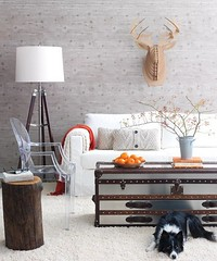Rustic Living Room | by It's Great To Be Home