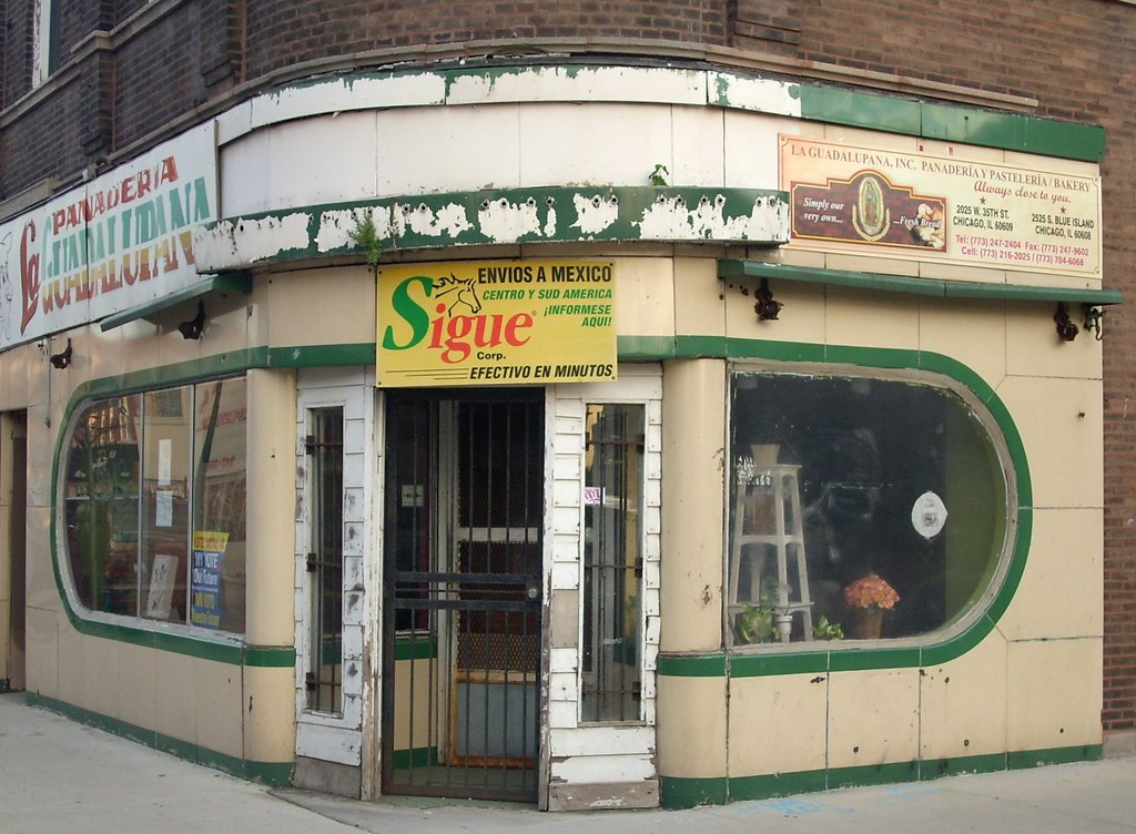The Door Store Chicago #51   ... Corner Store, McKinley Park, Chicago | By  Katherine Of Chicago