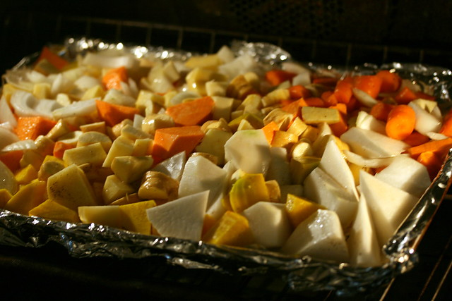 roasted winter root vegetables | Flickr - Photo Sharing!