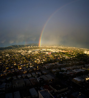 Rainbow Touches Down | by Chris Camargo