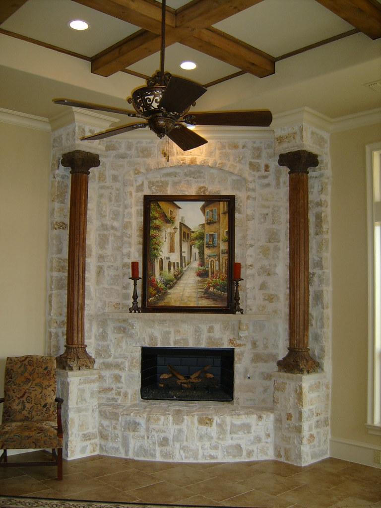 R M Beam Ceiling Corner Fireplace Samsung Digimax D530