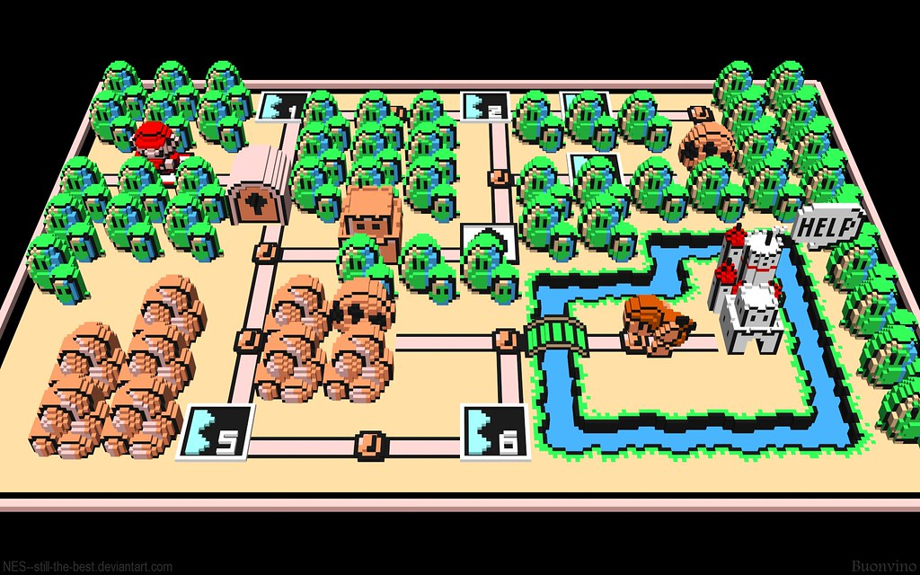 Super mario bros 3 world 1 map since flickr resizes all my flickr super mario bros 3 world 1 map by nes still the gumiabroncs Image collections